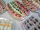 Парти хапки, сандвичи, сладки