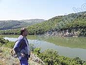 Петър Начев - водач около село Крушево