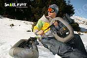 Надуваеми снегоходки Small Foot